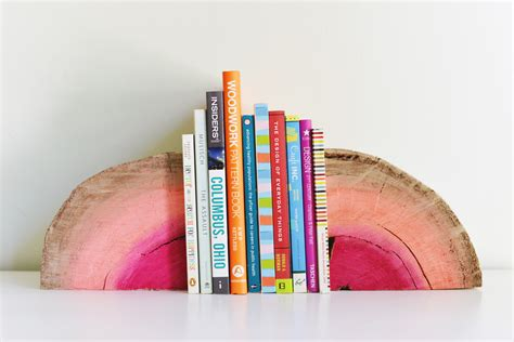 this is how it ends books diy half log bookends
