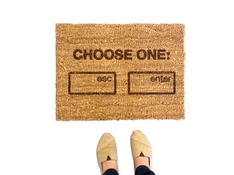 Geeky Doormats awesomely geeky doormats