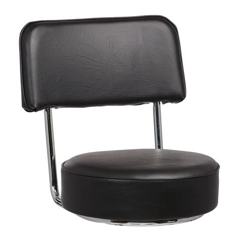 Bar Stool Replacement Seats Royal Industries Roy 7715 Sb Replacement Open Back Bar Stool Seat Black