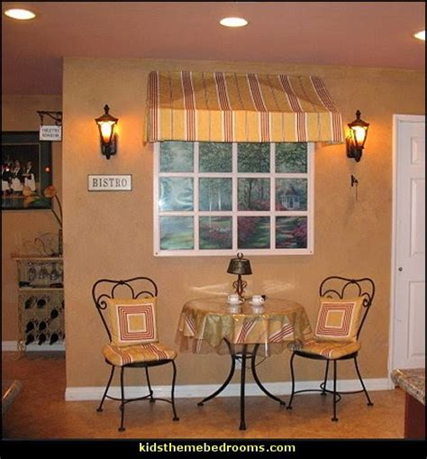 French cafe paris bistro style decorating ideas french country theme