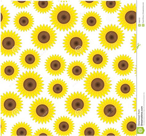sunflower pattern tumblr seamless sunflower background stock image image 7988101