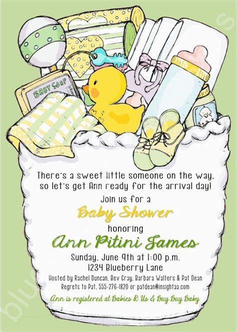 No Baby Shower For Baby by Neutral No Gender Baby Shower Printable Invitation