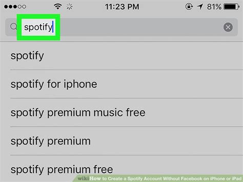 Find On Without An Account How To Create A Spotify Account Without On Iphone Or