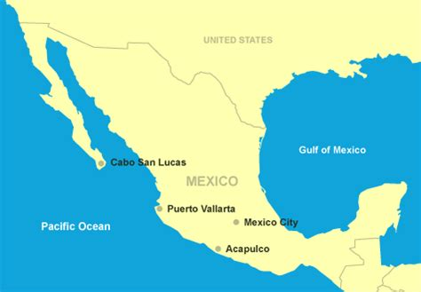 map of united states and cabo san lucas mexico great deals and guides to america mexico