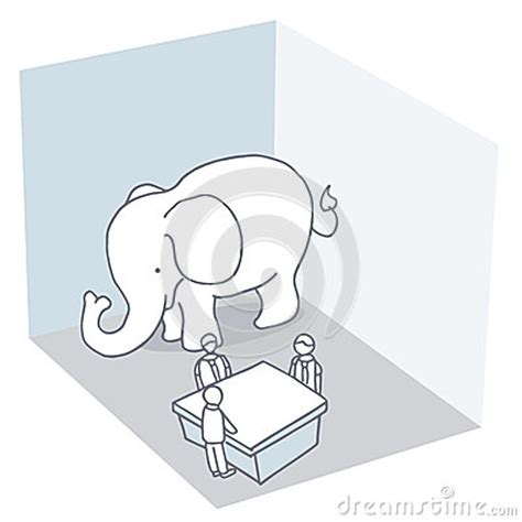 elephant in the room metaphor elephant in the room royalty free stock photos image 38482958