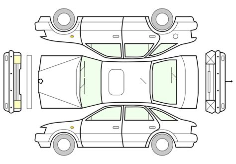 car layout vector unfolded car png 900px large size clip arts free and png