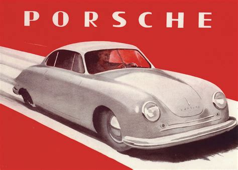 porsche poster vintage after the winds of war porsche s early days part i