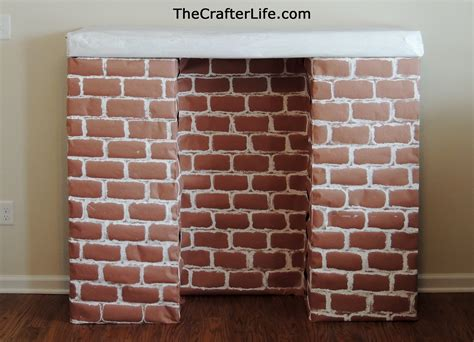 How To Make A Paper Fireplace - crafts archives