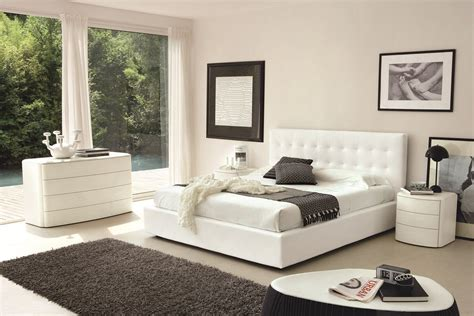white modern bedrooms blackand white modern bedroom interiordecodir