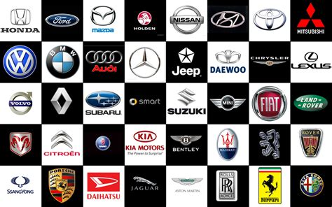 luxury car logos and names car logos with names free large images