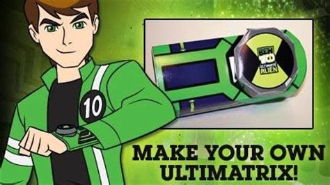 How To Make Ben 10 With Paper - paper ultimatrix