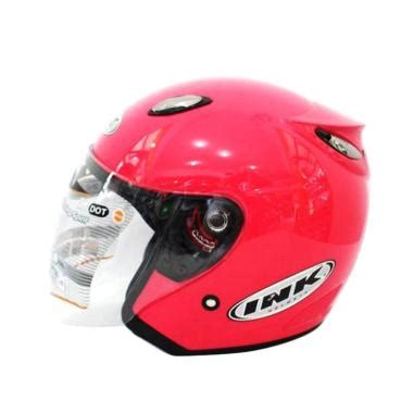 Helm Ink Open Centro Jet Black White Orange jual helm ink centro terbaru terbaik harga murah blibli