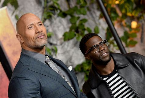 kevin hart and dwayne johnson watch quot who the f quot sonny jay winds up the rock and