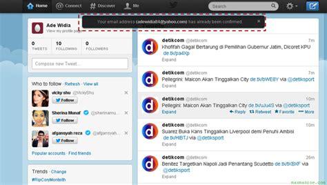 cara membuat imael twitter diana blog cara membuat akun twitter baru dengan cepat