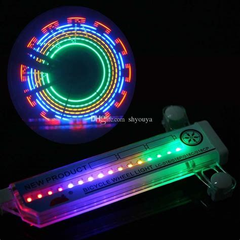 Lu Led Sepeda 32 Colorful Pattern Ful 32 Pattern 32gorgeous And Cool Flower Patterns Shining Led Waterproof Bicycle Light Bike Led