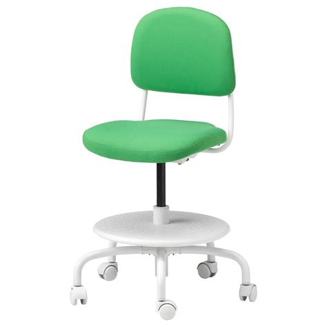 ikea green chair vimund children s desk chair vissle bright green ikea