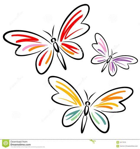 imagenes vectoriales mariposas mariposas vector ilustraci 243 n del vector ilustraci 243 n de