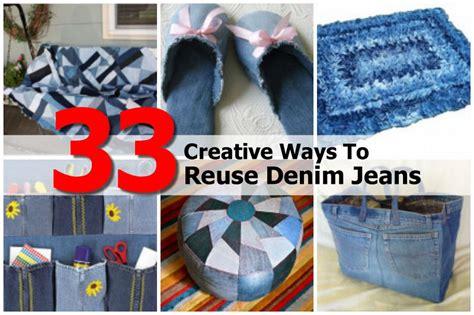 diy how to reuse your 33 creative ways to reuse denim