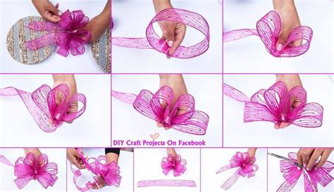 how to tie a bow christmas december pinterest