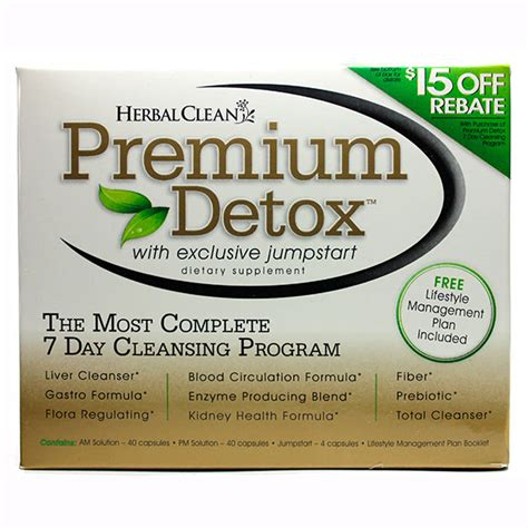 Herbal Clean Premium Detox 7 Day Review by Premium Detox 7 Day Comprehensive Cleansing Program