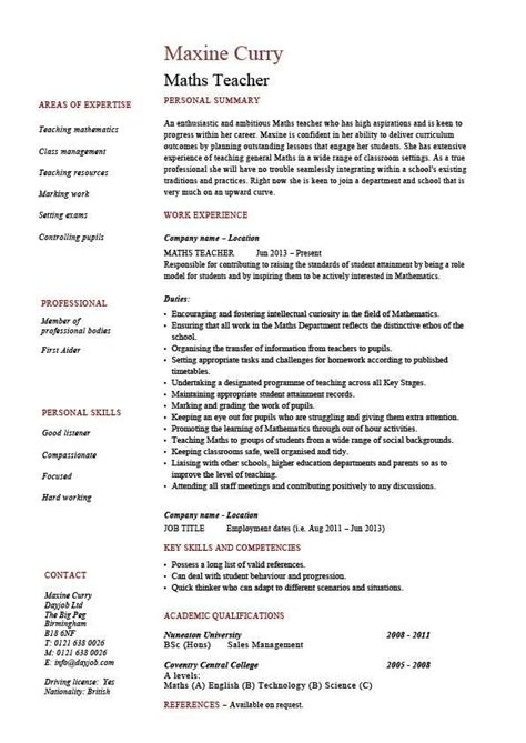 physics cv template physics resume best resume collection