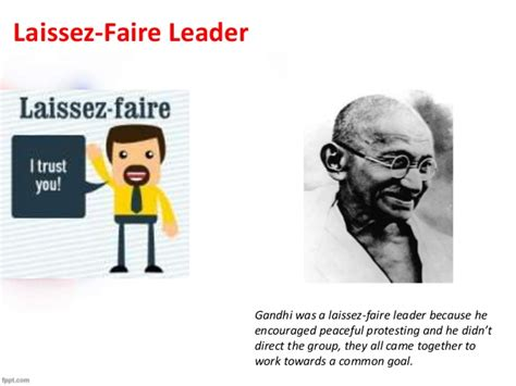 Exles Of A Laissez Faire Leader by Leadership Styles Jmdg