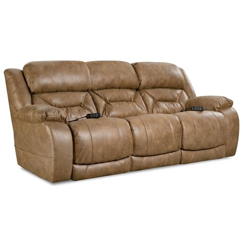 homestretch enterprise    casual power reclining sofa  power headrests john