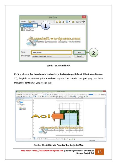membuat video grid tutorial membuat grid sesuai dengan bentuk area of interest