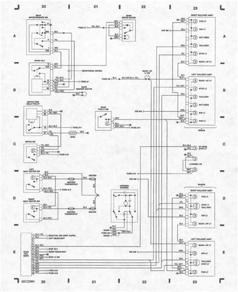 volvo 240 instrument cluster wiring diagram wiring
