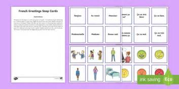 snap cards in spanish greetings snap card game french french games french snap