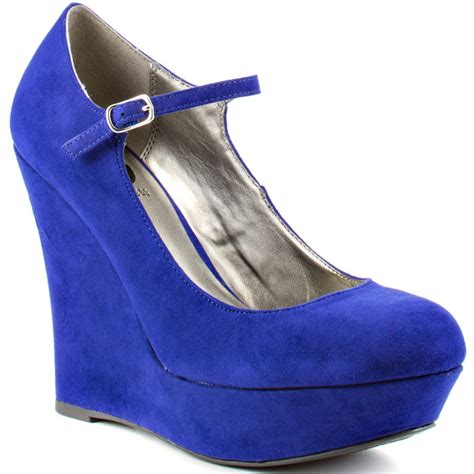 material shoes luichiny dix en purple blue fabric shoes for womof