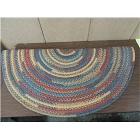 tie rugs with rags 60 quot d vintage area rag tie rug early american style