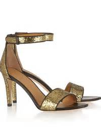 Marc By Marc Sequin Rope Wedges by Gold Sequin Heeled Sandals Marc By Marc Glitter