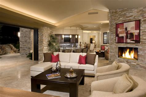 contemporary home interior designs rock your home with stone interior accents