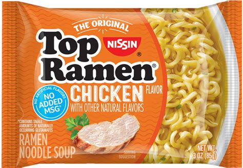 Top Ramen nissin the original instant ramen