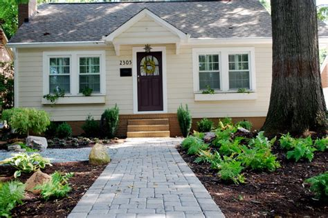 Backyard Chantilly by Chantilly Bungalow Project Traditional Landscape