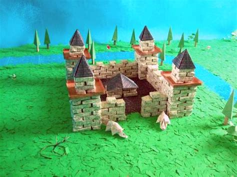 How To Make A Origami Castle - joost langeveld origami page