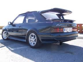 Ford Turbo Ford Rs Turbo Motoburg