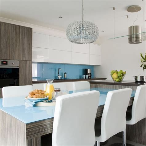 modern blue kitchen modern blue kitchen white kitchens housetohome co uk