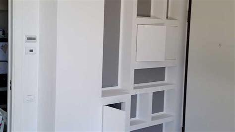 libreria cartongesso e legno librerie in cartongesso design e funzionalit 224 entra