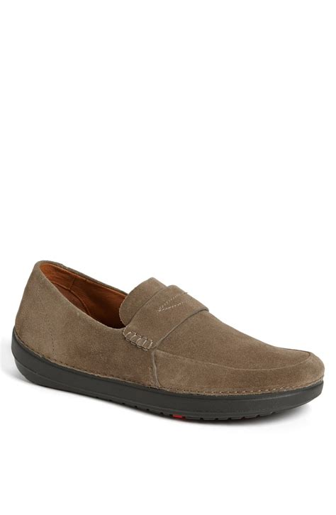 grey loafers for s fitflop fitflop lyst