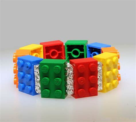 Lego Bracelet 17 best images about lego jewellery on jewelry