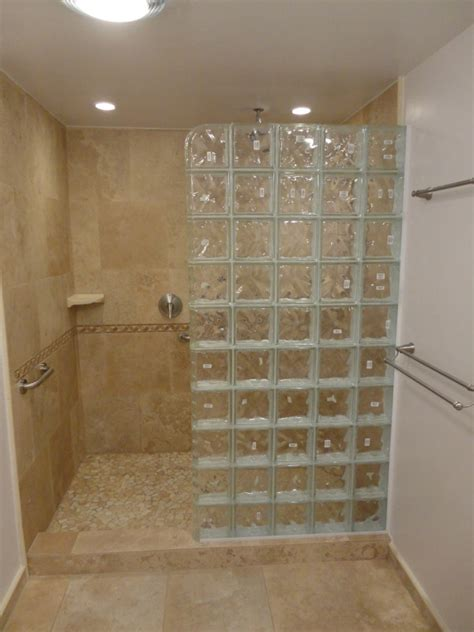 glass block bathroom designs 2018 glass blocks for showers featuring walk in block shower invigorate intended 2 leandrocortese info