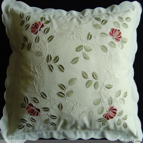 Pillow Embroidery Designs by Cushion Cushion And Pillow Covers Pillow