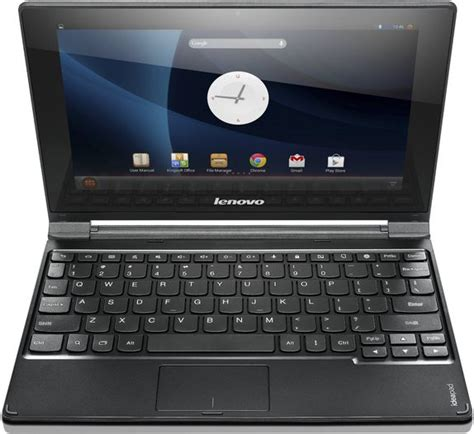 android notebook lenovo ideapad a10 android based notebook launched in india for rs 19990