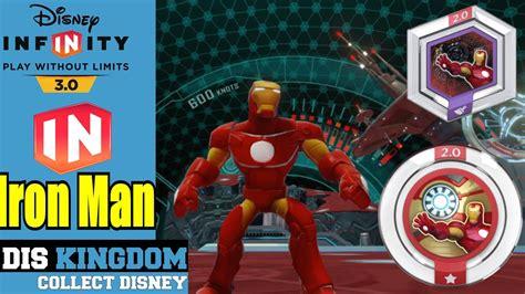 disney infinity iron man power discs gameplay youtube