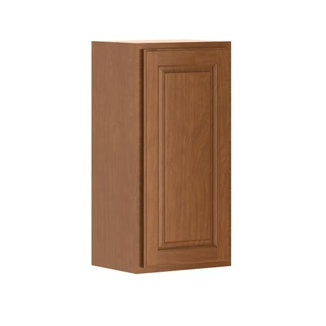 home depot cognac cabinets hton bay madison assembled 15x30x12 in wall cabinet in