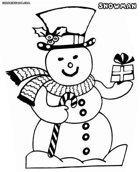 snowman coloring snowman coloring pages coloring pages to and print
