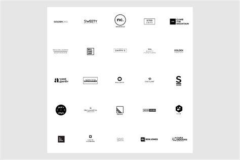 25 free minimalistic logo templates creativebooster