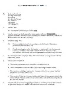 Business Research Proposal Template Examples Of Methodology In Research Proposal Apreender